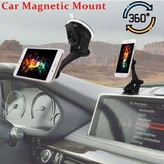Magnetic Car Mount Holder Windshield Dashboard Suction Mount For Cell Phone GPS - Magnetic Holder - Ideas of Magnetic Holder - Magnetic Car Mount Holder Windshield Dashboard Suction Mount For Cell Phone GPS Price : Car Cell Phone Holder, Cell Phone Mount, Iphone Holder, Magnetic Phone Holder, Car Mount Holder, Car Holder, Car Best, Smartphone Gps, Dashboard Car