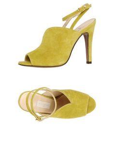 L' AUTRE CHOSE Women's Sandals Acid green 8.5 US