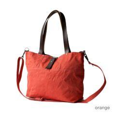 "moop bag ""the carrier"" in orange"