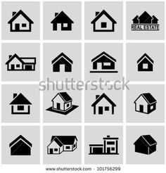 Find Houses Icons Set Real Estate stock images in HD and millions of other royalty-free stock photos, illustrations and vectors in the Shutterstock collection. Real Estate Icons, Real Estate Logo, Dad Tattoos, Small Tattoos, Icon Design, Logo Design, Logo Real, Home Tattoo, Home Icon