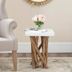 Fontana Jett End Table Denver Pad Pinterest Rubber Tree - Table pads denver