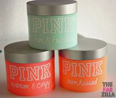 TheFabZilla: So Which Pink Are You? Victoria's Secret Pink Luminous Body Butter