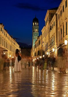 Dubrovnik Old City. Stradun Croatia by stephen nicholas wilson, via Flickr