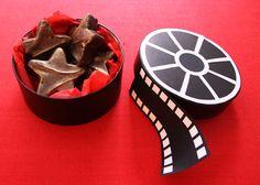 Film Reel Oscar Boxes #diy #party #movie
