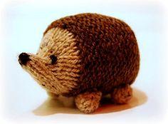 Ravelry: Little oddment hedgehog pattern by Julie Williams