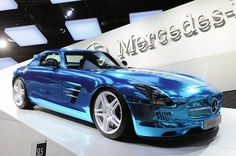Mercedes-Benz SLS AMG Electric Drive is a 750hp all electric sports car