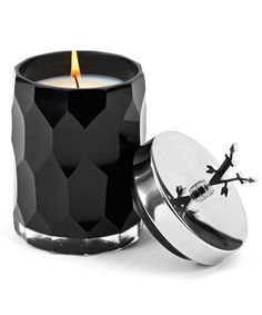 Votivo Redcurrant Scented Candle. I love the elegant black glass.
