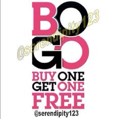 BOGO SALE through March 6 BOGO SALE IN PROGRESS  ---  BUY ONE, GET ONE FREE SALE ---   PLEASE READ BEFORE ASKING QUESTIONS: 1. In progress through Sunday, March 6 - 12 p.m. PST 2. Includes all categories except $999 items 3. Discount applies to lower priced item 4. Must purchase at least two items 5.  Discount does not apply to previous purchases 6. Bundles are manually packaged – please tag me with your bundle items and I will tag you with the bundle 7.  NOT AVAILABLE means SOLD 8.  FIRST…