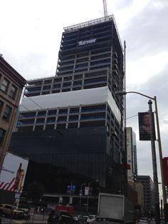 222 under construction Oct 2014