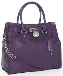 Michael Kors Hamilton Large Tote Purple Bag    Handbags,Handbags,Handbags
