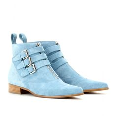 mytheresa.com - Tabitha Simmons - EARLY SUEDE ANKLE BOOTS - Luxury Fashion for Women / Designer clothing, shoes, bags