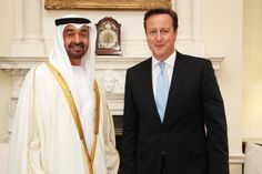 David Cameron appreciates that investing 'bottom up' will positively impact the #UAE economy within 8 weeks, get cash flowing and restore liquidity