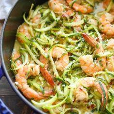 Zucchini Noodle Recipes, Zoodle Recipes, Spiralizer Recipes, Fish Recipes, Seafood Recipes, Paleo Recipes, Low Carb Recipes, Dinner Recipes, Cooking Recipes