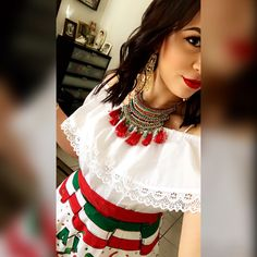 Mexican fiesta outfit