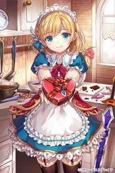 This is Atlantis's 2p! Her human name is Loski Miri Osiku. She likes to bake…
