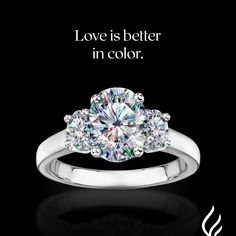 Forever embrace the color you bring to each other's lives with Facets of Fire™ diamonds. Visit FACETSofFIRE.com. Heart Ring, Diamonds, Engagement Rings, Color, Jewelry, Enagement Rings, Wedding Rings, Jewlery, Bijoux