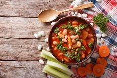 Skinny Minnie Minestrone Soup