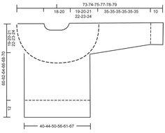 """Kuviollinen DROPS pusero pyöreällä kaarrokkeella """"Karisma""""-langasta. Koot XS-XXXL."""