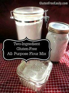Easy Gluten-free Flour Mix