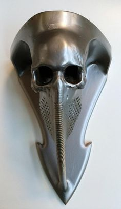 Front view of biomech wall sconce. For H.R. Giger.