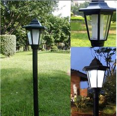 Outdoor Solar Power LED Path Way Wall Landscape Mount Garden