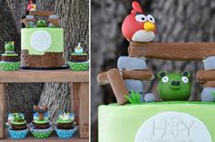 Angry Birds party theme? Maybe do some lawn bowling for a game or water balloons at pig targets?