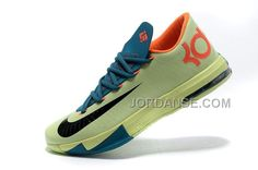 NK KEVIN DURANT KD 6 VI AQUA GREEN-ORANGE/TEAL-NAVY SALE FOR FALL, Only$79.00 , Free Shipping! http://www.jordanse.com/nk-kevin-durant-kd-6-vi-aqua-greenorange-tealnavy-sale-for-fall.html