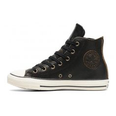 CONVERSE ALL STAR SIDE ZIP CUIR