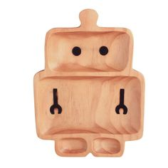 Petits Et Maman Kids Plate - Robot