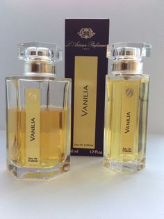 Vanilia by L'Artisan Parfumeur. Oriental Perfumes, L'artisan Parfumeur, Smell Good, Vanilla, Perfume Bottles, Vegan, Eau De Toilette, Perfume Bottle, Vegans