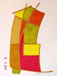 coisas de pintura: Janelas - tinta acrílica sobre papel - 2003