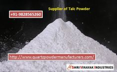 Best Supplier of Talc Powder in India Shri Vinayak Industries offer wide range in Minerals in India and out of India.