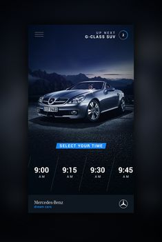 Dream Car App Motion designed by ⋈ Brandon Termini ⋈ for Handsome. Connect with them on Dribbble;