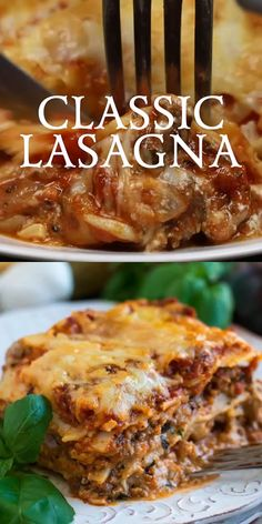 lasagna recipe classic - lasagna recipe - lasagna recipe with ricotta - lasagna recipe easy - lasagna recipe with cottage cheese - lasagna recipe easy simple - lasagna recipe with ricotta beef - lasagna recipe easy ricotta - lasagna recipe classic Cottage Cheese Lasagna Recipe, Easy Lasagna Recipe With Ricotta, Classic Lasagna Recipe, Homemade Lasagna, Lasagna Soup, Pasta House Lasagna Recipe, Soul Food Lasagna Recipe, Vegetarian Food