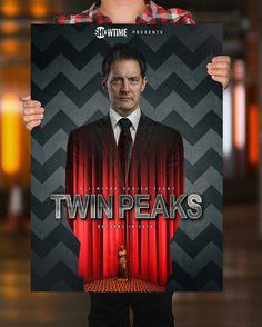 Fan-Designed Twin Peaks Poster Campaign Envisions Dale Cooper On Billboards Visit http://welcometotwinpeaks.com/inspiration/twin-peaks-2016-fan-promo-posters/#ixzz3FwbBkfcp