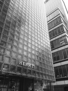 See. Hermès flagship store in Tokyo. Maison Hermès by Renzo Piano Building Workshop. Not very many architects could make glass block look this beautiful.
