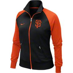San Francisco Giants MLB Nike Women's Black 2013 Track Jacket $64.99 http://shop.baseballhall.org/San-Francisco-Giants-MLB-Nike-Womens-Black-2013-Track-Jacket-_-727687656_PD.html?social=pinterest_pfid66-54200