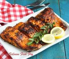 Salmon fish fry, an easy and tasty fish fry with indian spices. You can serve this salmon fish fry as starters or as side dish for your ric...