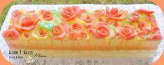 Rose Shimmer Soap Loaf Scent: Maple Roasted Southern Peach