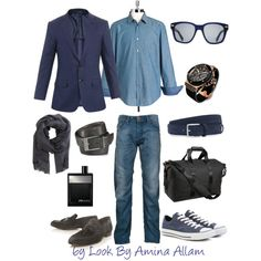 Night & Day for Him, created by Look By Amina Allam