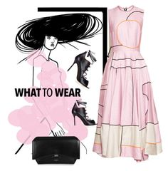 """meet me in pink"" by fl4u ❤ liked on Polyvore featuring Roksanda, Givenchy and Malone Souliers"