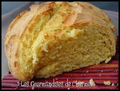 Pain à la Farine de Maïs Plus Cooking Time, Cooking Recipes, Snacks, Flan, Food Inspiration, Bakery, Good Food, Food And Drink, Baguettes