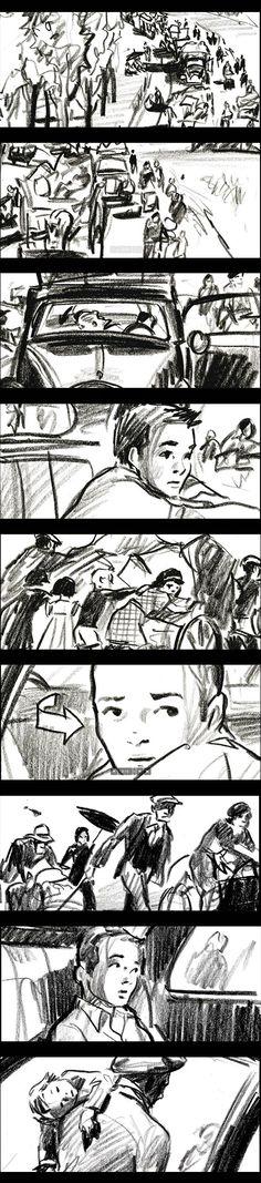 LesEgarés-AndreTéchiné_MaximeRebiere_StoryBoard