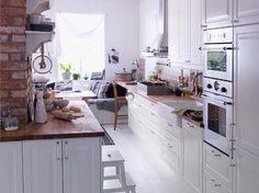 Kitchen-Inspiration from IKEA Beautifully styled Kitchen design