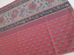 Standard Pillowcase ~ Martex AVIGNON Red Clay Vintage Percale Single Cases Shams #Martex #Traditional