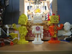 bob the bobblehead bot by tbuser 3d printer designs3d