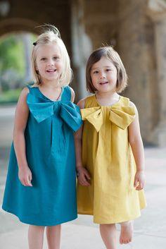 Big Bow Dress PDF Pattern available, $12.50