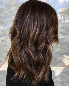 60 Looks with Caramel Highlights on Brown and Dark Brown Hair Blonde Babylights For Brown Balayage Hair Dark Brown Hair With Low Lights, Brown Hair With Blonde Highlights, Brown Hair Balayage, Long Brown Hair, Hair Highlights, Brown Brown, Brown Hair With Lowlights, Natural Brown Hair, Golden Brown Hair