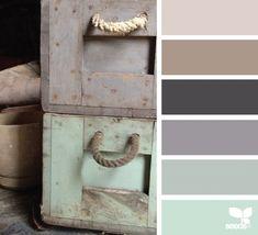rustic tones - design seeds Kitchen/dining room and living room colors Design Seeds, Color Concept, Vibeke Design, Home And Deco, Colour Schemes, Kitchen Color Schemes, Rustic Color Schemes, Paint Schemes, Color Pallets