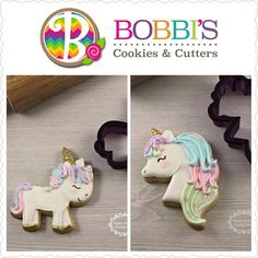 "278 Likes, 10 Comments - Bobbi Barton (@bobbiscookies) on Instagram: ""More cute unicorns from @pamsfrostedcookieshop! She made some cookies samples for my listings that…"""